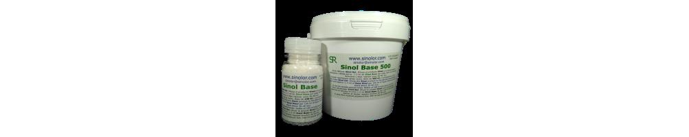 Sinol Base, polímeros para convertir el Sinol liquido en gel - sinolor